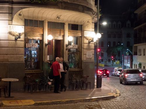 Buenos Aires bij nacht